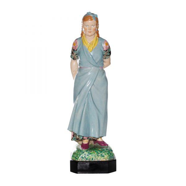 The Fair Taggly - Charles Vyse Figurine