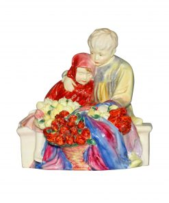 Flower Sellers Children PT - Royal Doulton Figurine