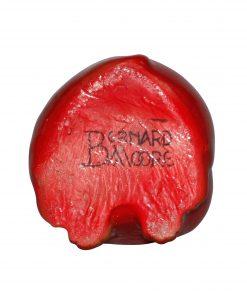 Bernard Moore Seated Pug - Royal Doulton Flambe