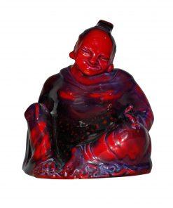 Sung Smiling Buddha - Royal Doulton Flambe