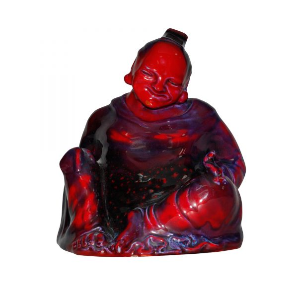 Sung Smiling Buddha - Royal Doulton Flambe