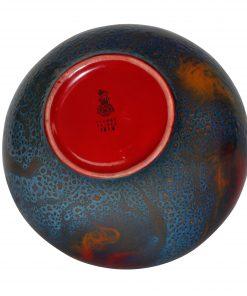 Veined Vase 1618 - Royal Doulton Flambe