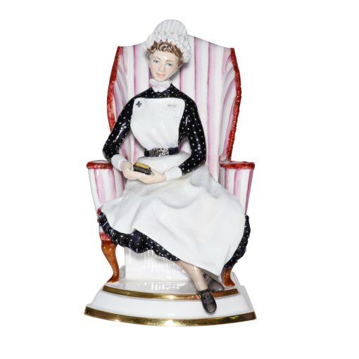Sister St Thomas Hospital - Royal Worcester Figurine