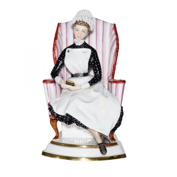 Sister St Thomas Hospital - Royal Worcester Figurine