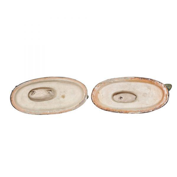 Candlestick Pair SeaMonste - Royal Doulton Stoneware