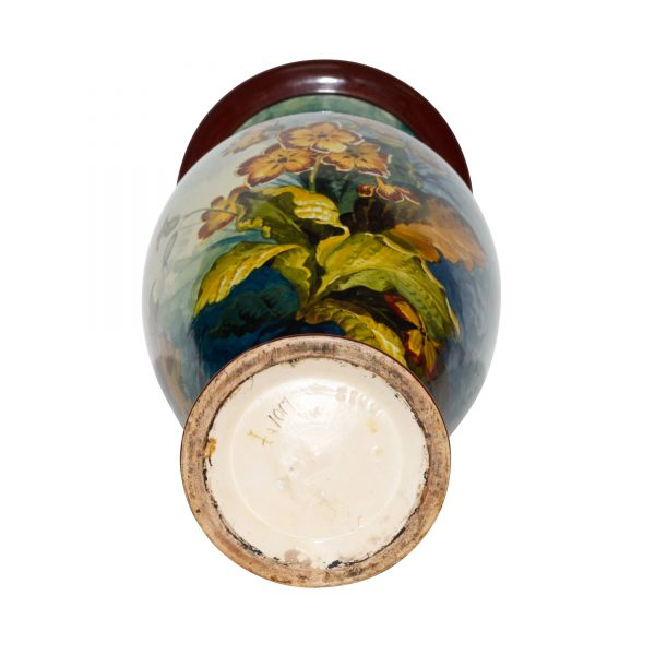 Faience Vase Daffodils MW - Royal Doulton Stoneware
