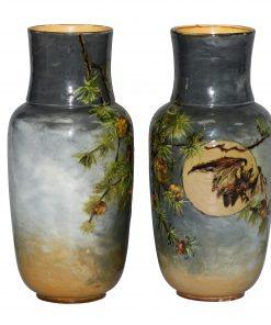 Rosa Keen Impasto Vase Pai - Royal Doulton Stoneware