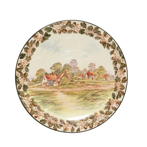 Country Cottages Charger D5688 - Royal Doulton Seriesware