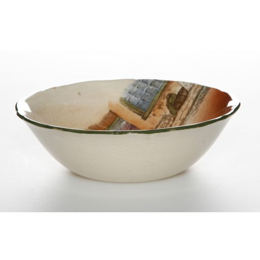 Dickens Bowl Shallow Scalloped - Royal Doulton Seriesware