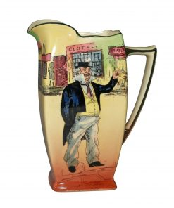Dickens Cap'n Cuttle Pitcher 7 - Royal Doulton Seriesware