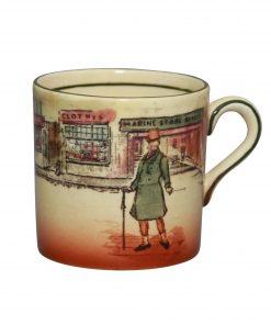 Dickens Mr Micawber Demitasse - Royal Doulton Seriesware