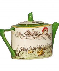 Pastimes Teapot - Royal Doulton Seriesware