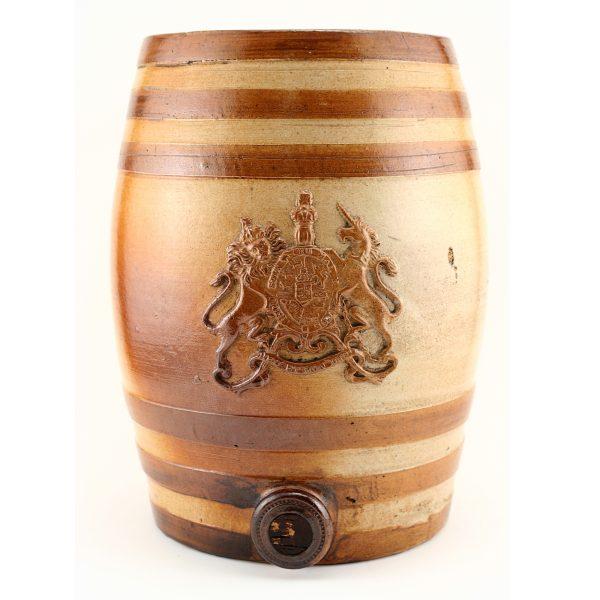 Doulton Lambeth Liquor Barrel - Royal Doulton Stoneware