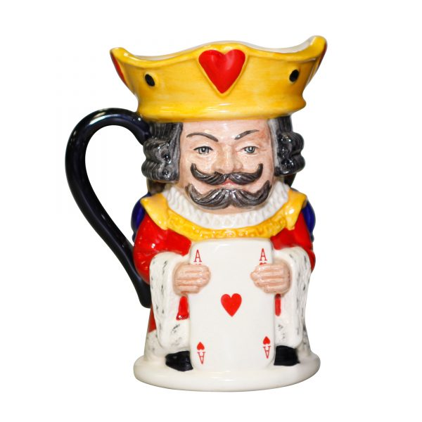 King/Queen Hearts Toby - Royal Doulton Toby Jug