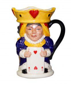 King/Queen Hearts Toby - Royal Doulton Toby Jug