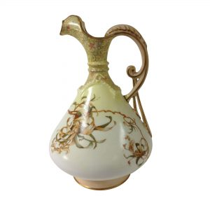 Burslem Pitcher Yellow Vellum