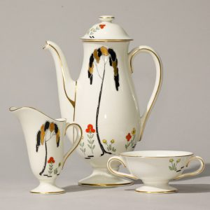 Coffee Set Art Deco 15 pc