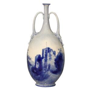 Vase Chepstow Castle Double Handl