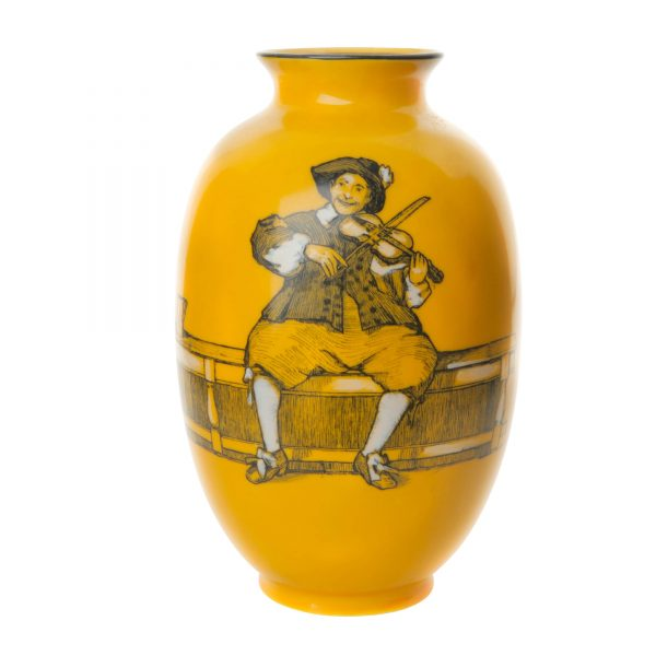 Vase Man with Fiddle