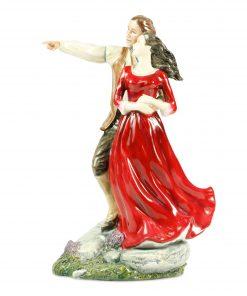 Heathcliff And Cathy - Royal Doulton Figurine