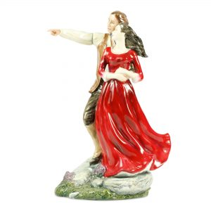 Heathcliff And Cathy - Royal Doulton Figurine