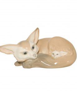 Fox and Cub 01011065 - Lladro Figure