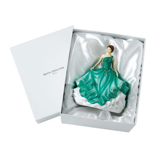 May Ballare HN5868 Crystal Ball Phase 3 - Royal Doulton Figurine