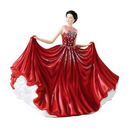 Midsummer Dance HN5834 Crystal Ball Phase 3 - Royal Doulton Figurine