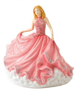 Sweet Minuet HN5867 Crystal Ball Phase 3 - Royal Doulton Figurine