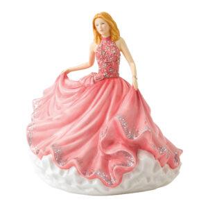 Sweet Minuet HN5867 Crystal Ball Phase 3 - Royal Doulton Figurine