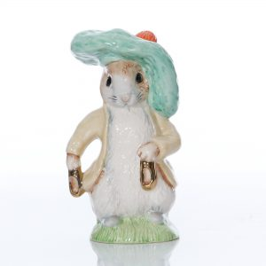 Benjamin Bunny with Gold Shoes (Large Size) - Beatrix Potter Figure