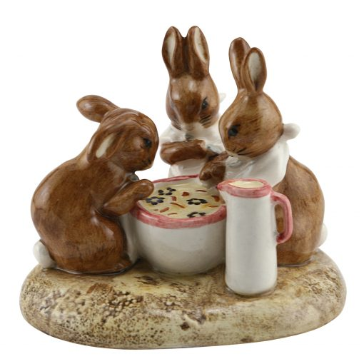 Flopsy, Mopsy & Cottontail - Beatrix Potter Tableau