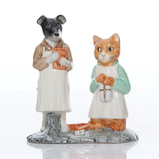 Ginger and Pickles - Beatrix Potter Tableau