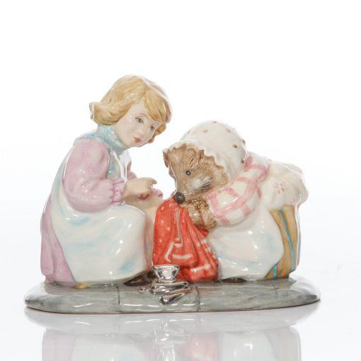 Mrs. Tiggy Winkle & Lucie - Beatrix Potter Tableau
