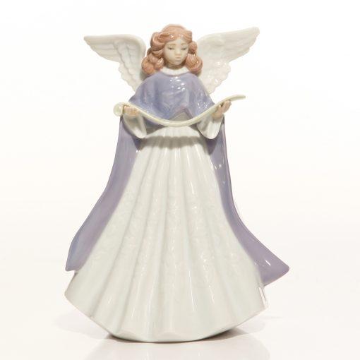 Angel 1993 Tree Topper 5962 - Lladro Figure