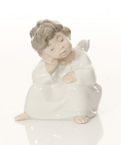 Angel Thinking 01004539 - Lladro Figure