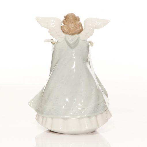 Angel Tree Topper Green 5875 - Lladro Figure