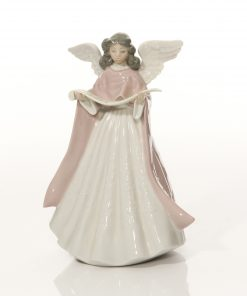 Angel Tree Topper Pink 5831 - Lladro Figure