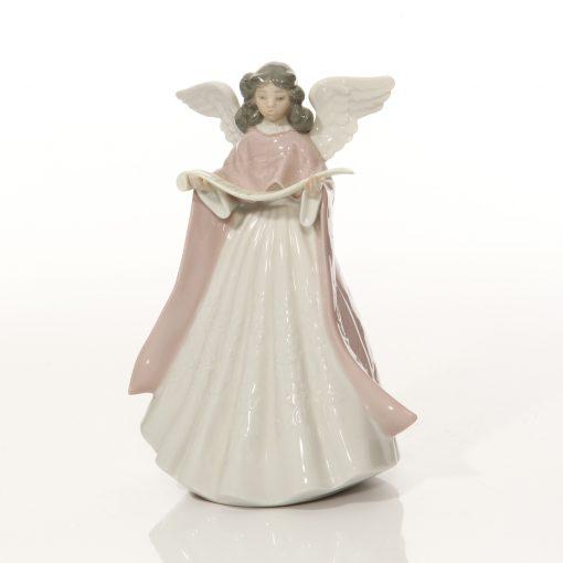 Angel Tree Topper Pink 5831 - Lladro Figure