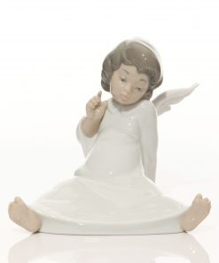Angel Wondering 4962 - Lladro Figure