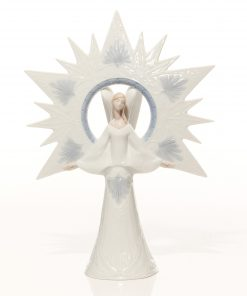 Angel of Light Tree Topper 6501 - Lladro Figure
