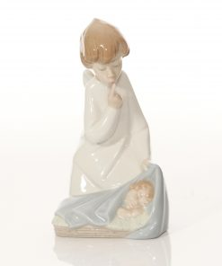 Angel with Child 4635 - Lladro Figure