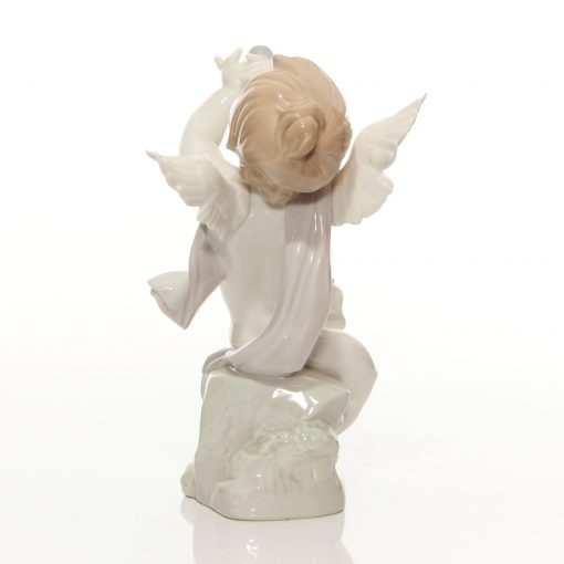 Angel with Clarinet 1232 - Lladro Figure
