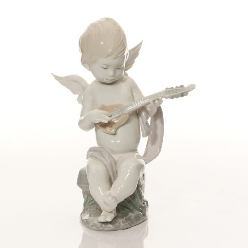 Angel with Lute 1231 - Lladro Figure