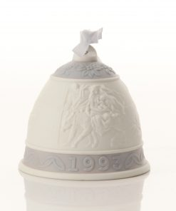 Christmas 93 Bell Ornament 6010 - Lladro Figure