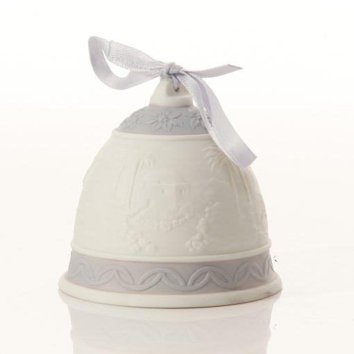 Christmas 93 Bell Ornament 6010 - Lladro Figure