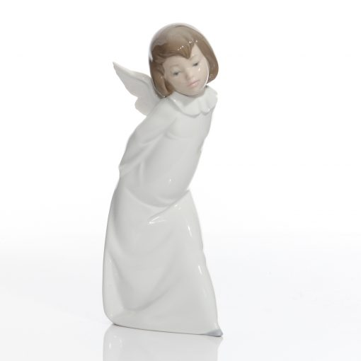 Curious Angel 4960 - Lladro Figure