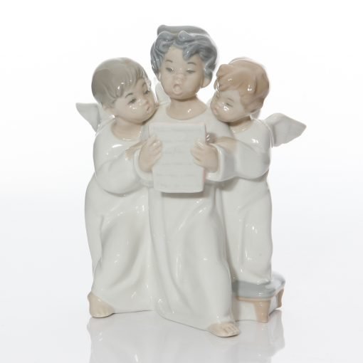 Group of Angels 4542 - Lladro Figure