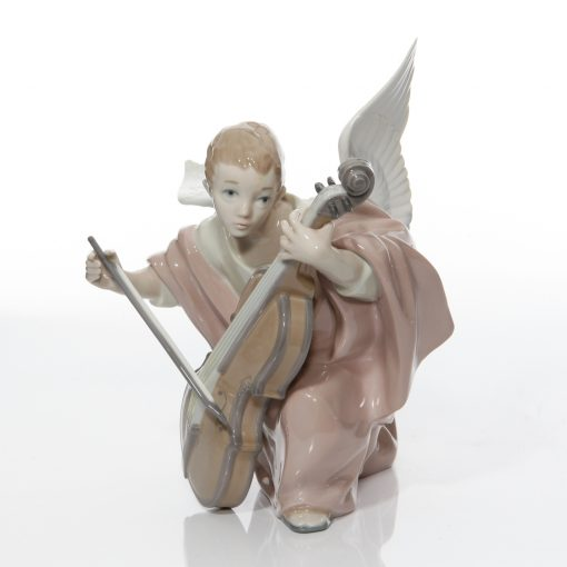 Heavenly Cellist 5492 - Lladro Figure