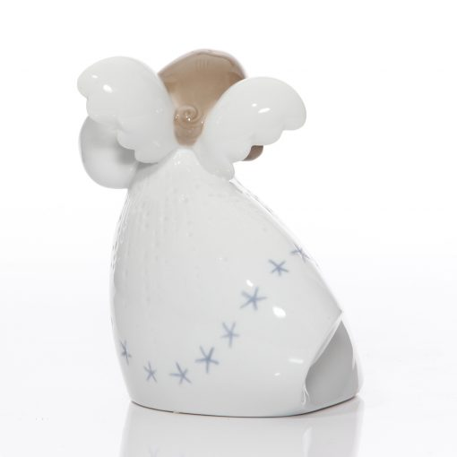 Little Angel with Lyre 6528 - Lladro Figure